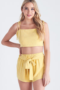 Sunshine & Good Times Top (Yellow)
