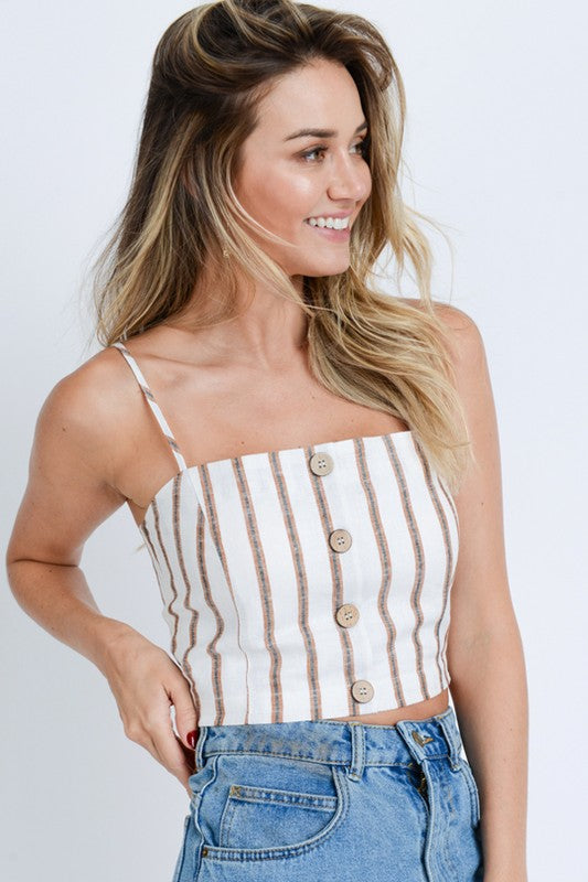 Hampton Stripe Tank Top