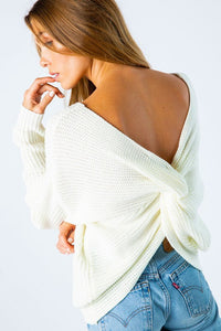 Lean On Me Sweater (Ivory)