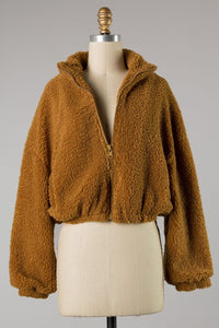 Cozy Nights Teddy Jacket