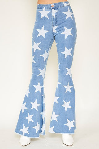 American Star Flare Jeans (Light)
