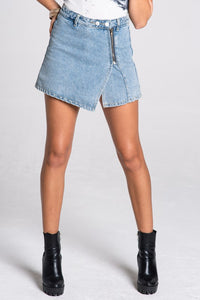 Jillian Denim Skort