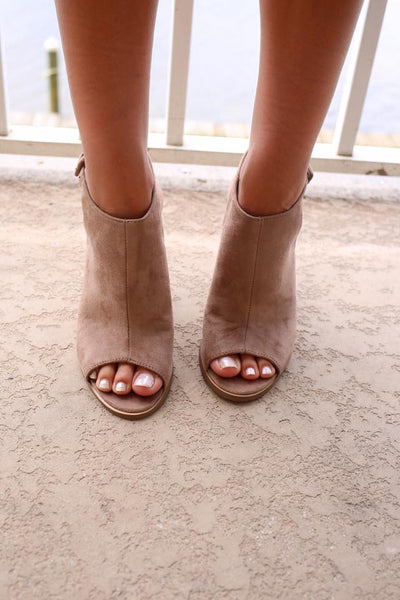 Kendal Peep Toe Booties