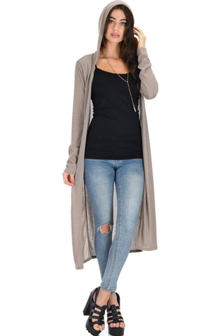 Taupe Feels Like Home Cardigan