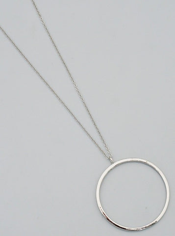 Let's Go Cruising Necklace ( Silver)