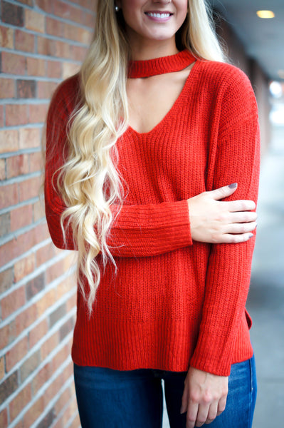 Of Good Cheer Sweater (Red)