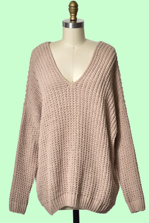Ever So Soft Sweater (Taupe)