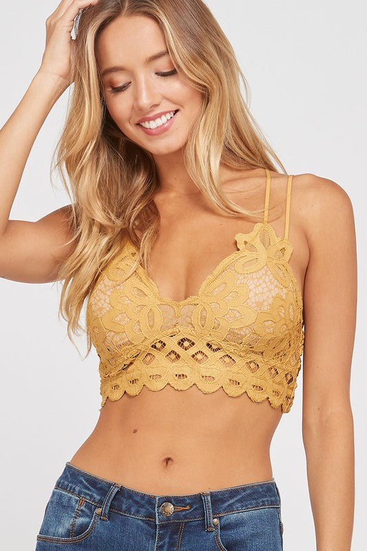 All About You Bralette (Mustard)