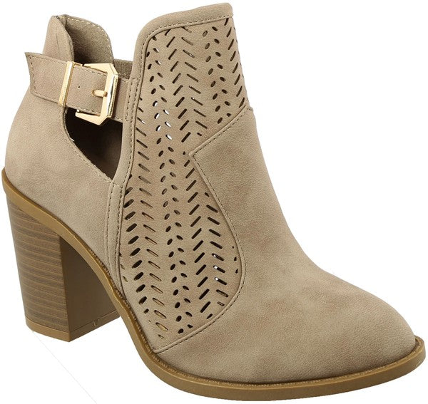 Make A Move Booties (Khaki)