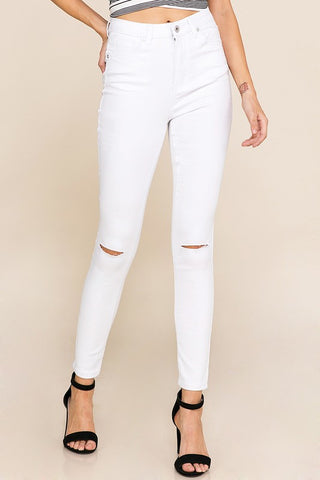 Blair Skinny Jeans (White)