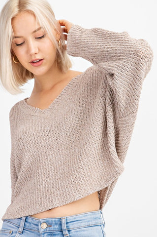 Quincy Knit Sweater (Natural)