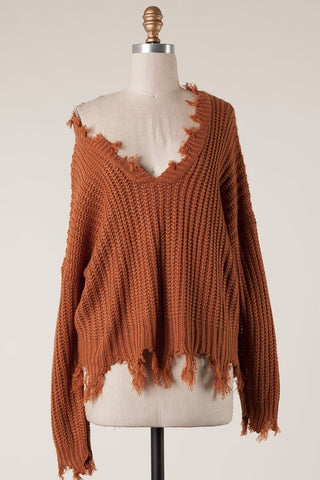 Open To Love Sweater (Camel)