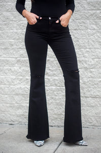 Make A Statement Flares (Black)
