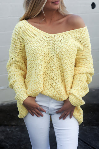 Ever So Soft Sweater (Yellow)