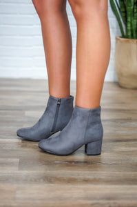 Jump Into Fall Booties (Grey)