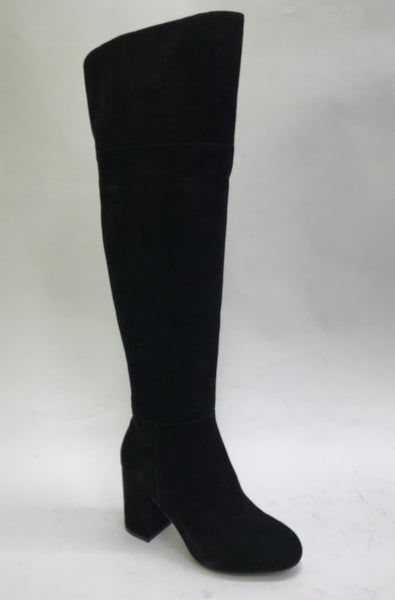 Fierce & Fabulous Over The Knee Boots (Black)