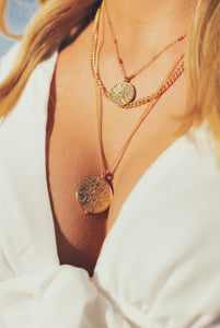 Myth Layered Coin Necklace