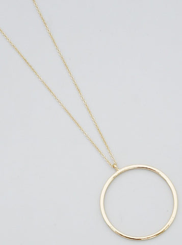 Let's Go Cruising Necklace ( Gold )