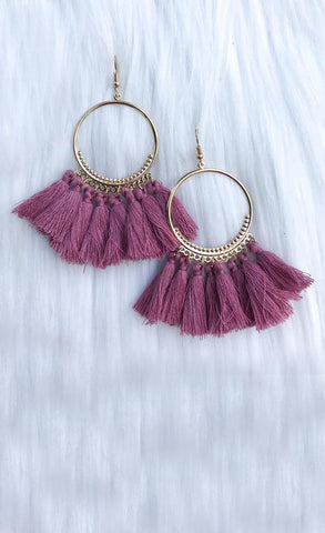 Flaunt It Tassel Earrings