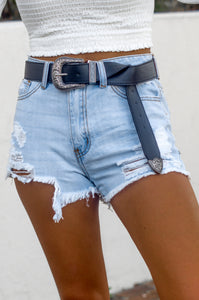 Bri Denim Shorts (Light)