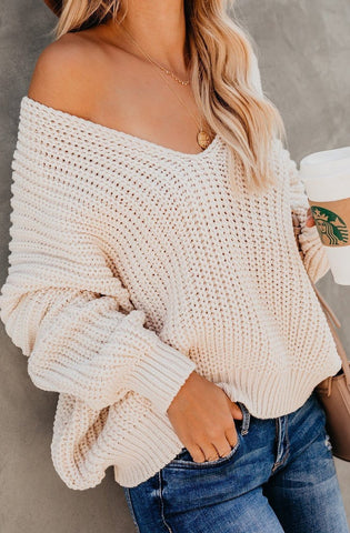 Macie Sweater (Almond) PREORDER