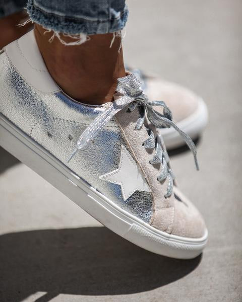 All-Star Sneakers (Silver)
