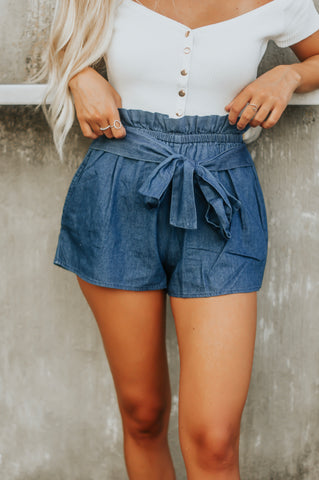 Hopscotch Paperbag Shorts