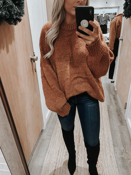 Middleton Chunky Knit Sweater
