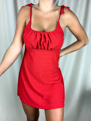 Simple Me Dress (Red)