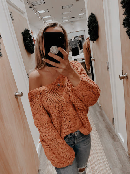 Stephanie Knit Sweater