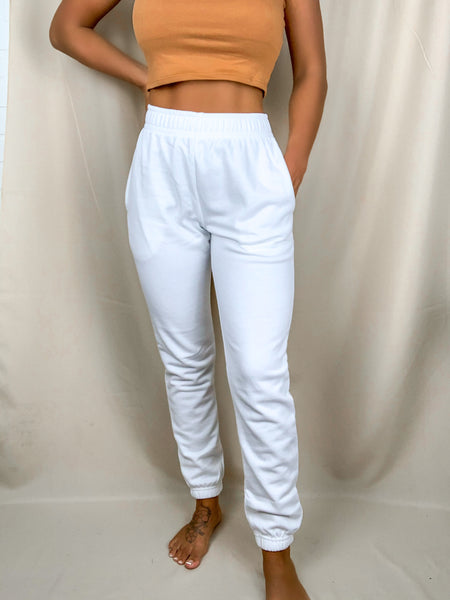 Freestyle Sweatpants (White)
