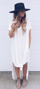 Wrapped In Love Ivory Dress