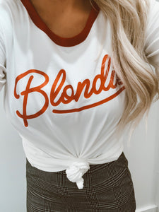 Retro Blondie Tee