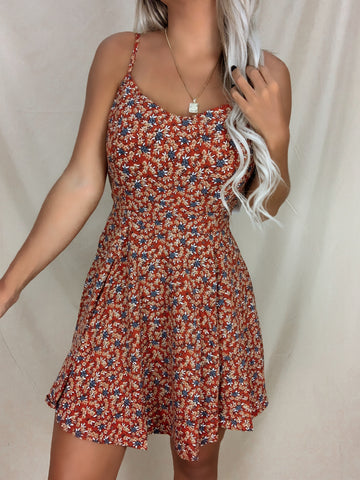 Floral Fields Mini Dress