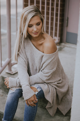 Reasons To Relax Sweater (Oatmeal)