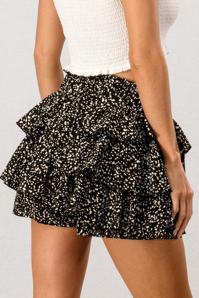 Catch My Flow Skort(Black)