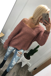 Emily Sweater (Marsala)