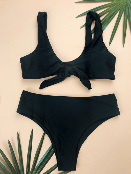 All Black Everything Swimsuit Bottom