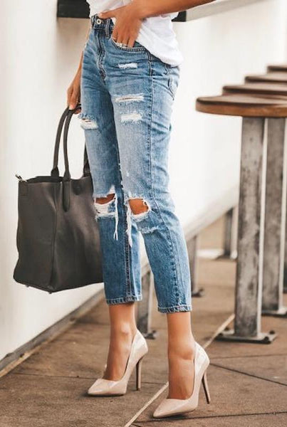 High Rise Vintage Jeans