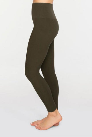 Tummy Control Leggings (Olive)