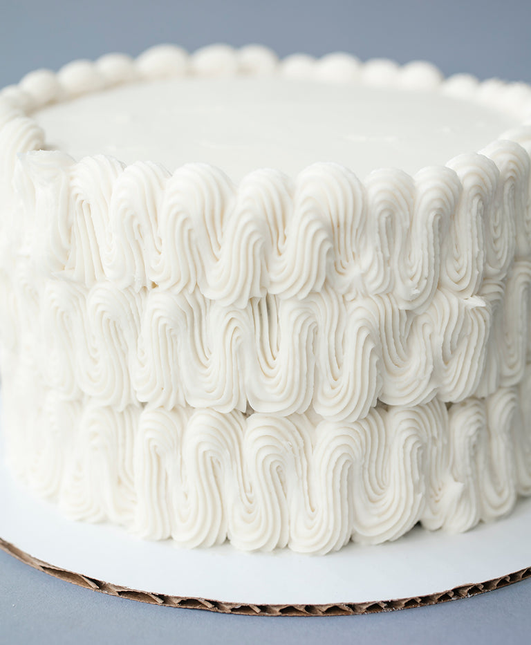 Gluten-free Almond Wedding Cake with Vanilla Buttercream