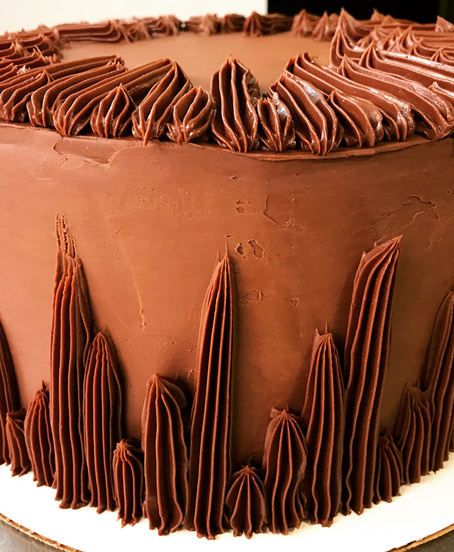 Gluten-free Old Fashioned Chocolate with Chocolate Buttercream
