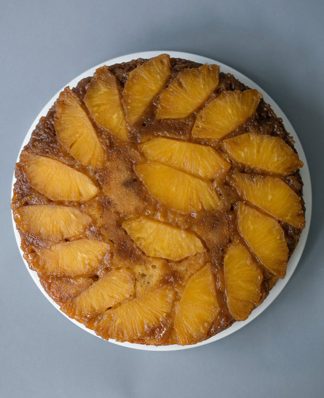 Pineapple Ginger Upside Down Cake