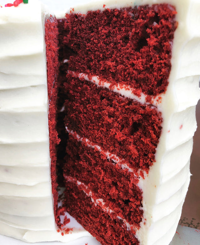 Red Velvet with Cream Cheese Buttercream