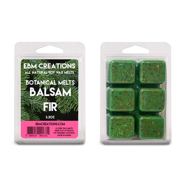 Balsam Fir Botanical Melts - 3.2 oz Clamshell Fresh Maine Balsam Inside!