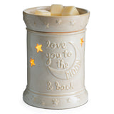 RTS - Love You To The Moon & Back  - Ceramic Illumination Wax Warmer