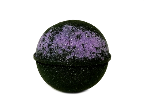 Black Amethyst Bath Bomb - All Natural 7.5oz - EBM Creations