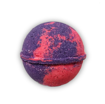Black Raspberry Vanilla Bath Bomb  All Natural 7.5oz