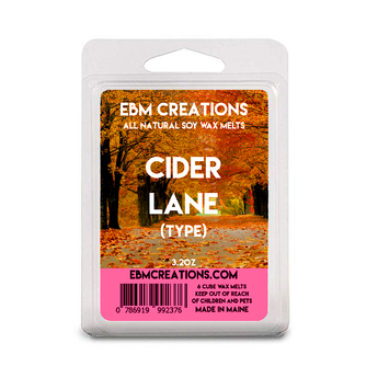 Cider Lane (Type) - 3.2 oz Clamshell