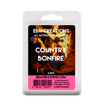 Country Bonfire - 3.2 oz Clamshell